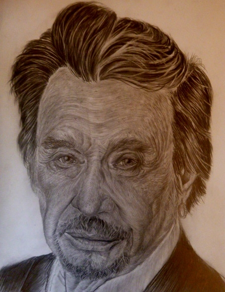 Johnny Hallyday by pibeste